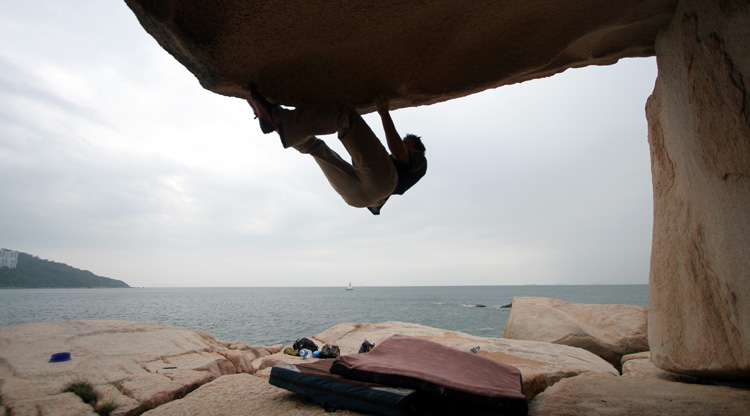 ChumHumKok_bouldering