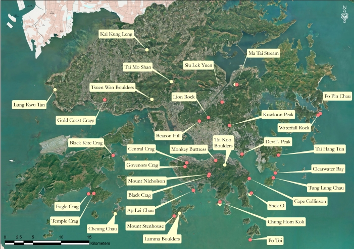 Crag Map